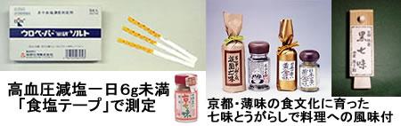 食塩テープ&七味