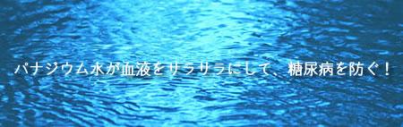 パナジウム水